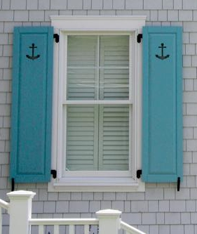 What are the different shutter styles hooks lattice blog Exterior shutters with cut out designs