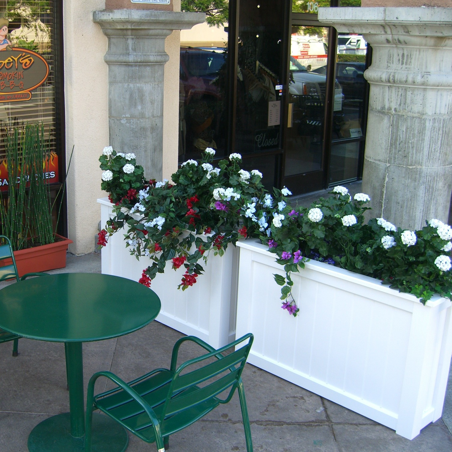 Enhancing your Storefront with Planters and Window Boxes