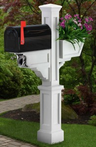 Your mailbox is just like your cover letter - it's the first impression your home makes!