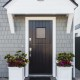 Curb Appeal Tip: Flanking doors and pathways is a simple way to play up your home's architectural features.