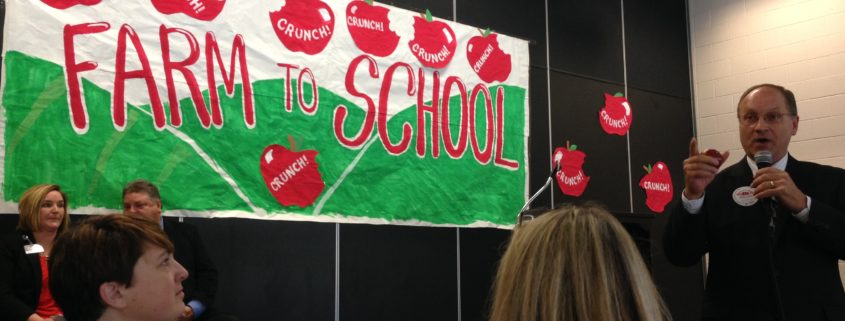 Early snowfall doesn't stop this Great Lakes Region school from getting involved!