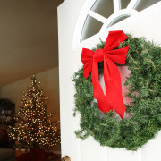 Welcome guests with the fresh look and SMELL of balsam pine boughs.