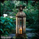 This elegant Victorian lantern casts a warm glow and complements any space.