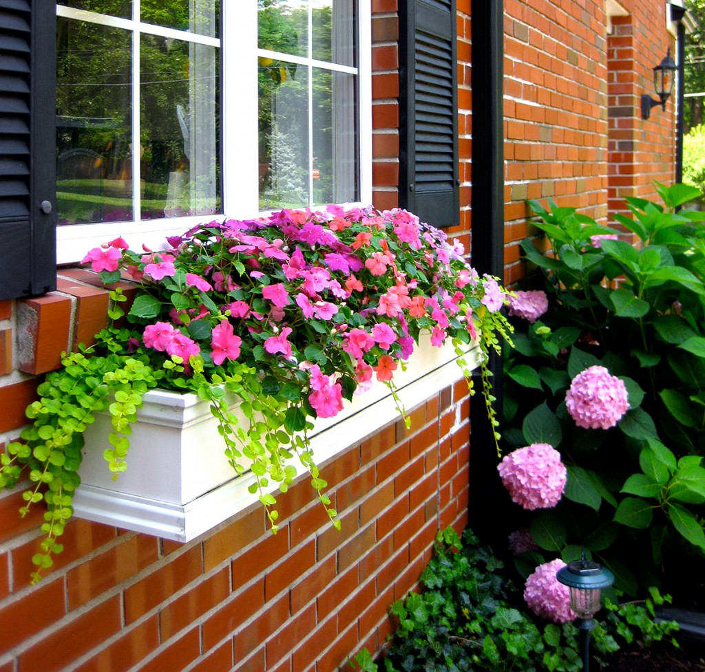 how to hang window boxes the right way. Black Bedroom Furniture Sets. Home Design Ideas