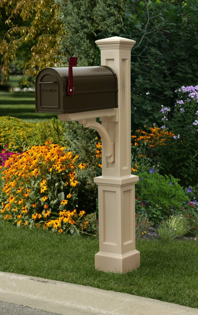 Literally give your curb appeal and make it stand out from the rest with a Presidential mailbox.