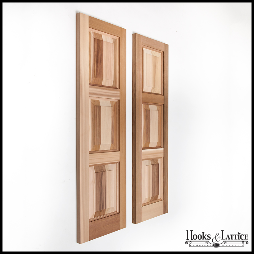 Handmade cedar shutters are a classic architectural detail that will make any passerby do a double take.