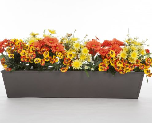 Bronze-Tone Galvanized Window Box
