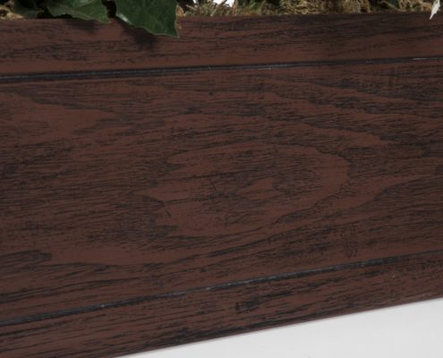 Faux Wood Window Boxes - Reclaimed Cherry Wood