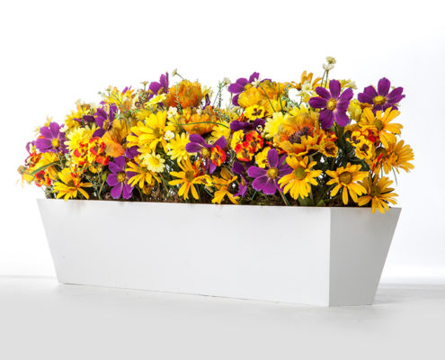 White Window Box Liner