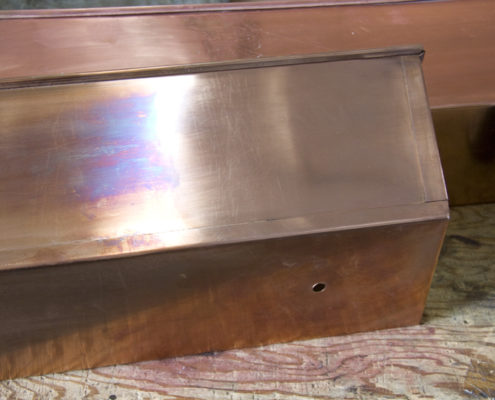 Polished Real Copper Planter Liner