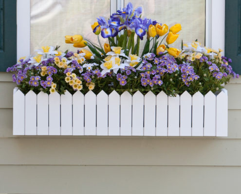 Picket Fence PVC Composite Window Box