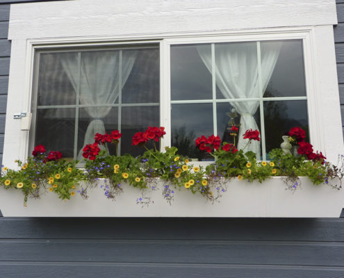 Urban Chic PVC Composite Window Box (Tapered Design)