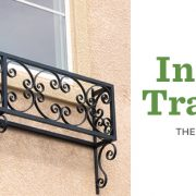 Wrought Iron Faux Balcony Decor that Instantly Transforms Your Home