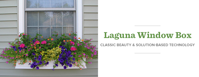 Laguna Window Box - Classic Beauty | Solution-Based Technology
