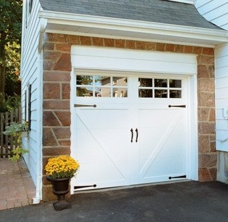 kidz install carriage hardware to garage makeover how door sweeties decorative