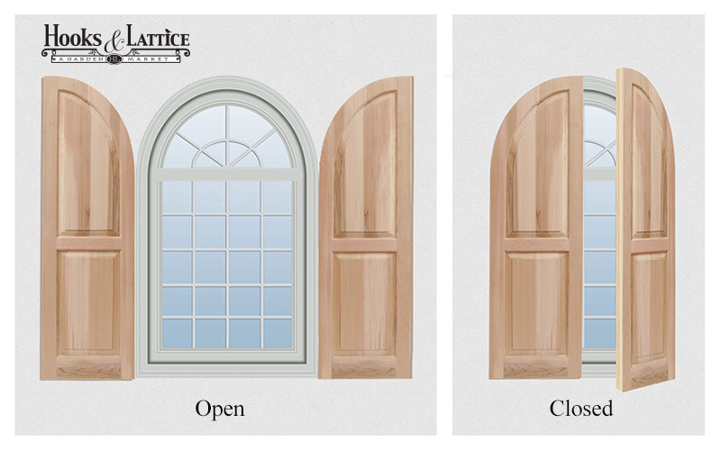 How to Install Arched Top Shutters Correctly Arch Top Exterior Shutters on arch top wrought iron, arch top interior shutter, arch top vinyl shutters, arch top shutters for windows, arch top vinyl windows,
