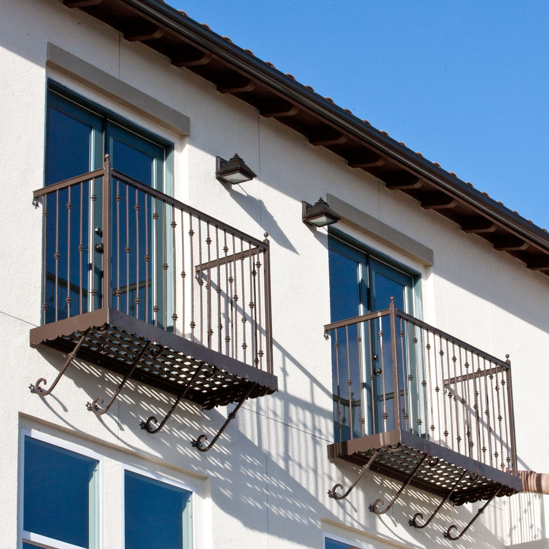 Faux Balconies For Windows
