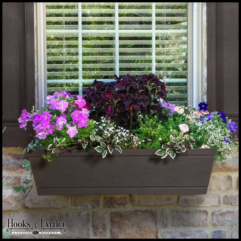 Modern Farmhouse Fiberglass Window Box