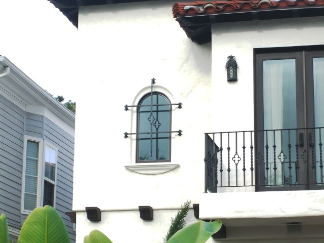Custom Iron Window Accent