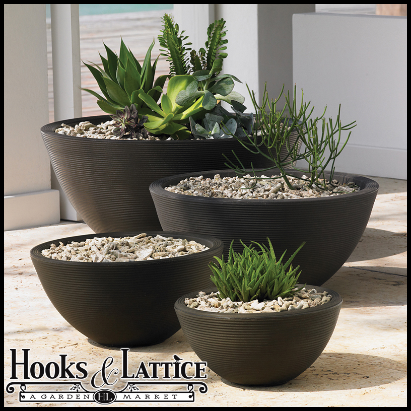 High Quality Devondale Round Outdoor Planters