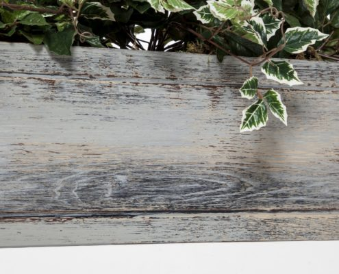 Faux Wood Window Boxes - Distressed Reclaimed Wood