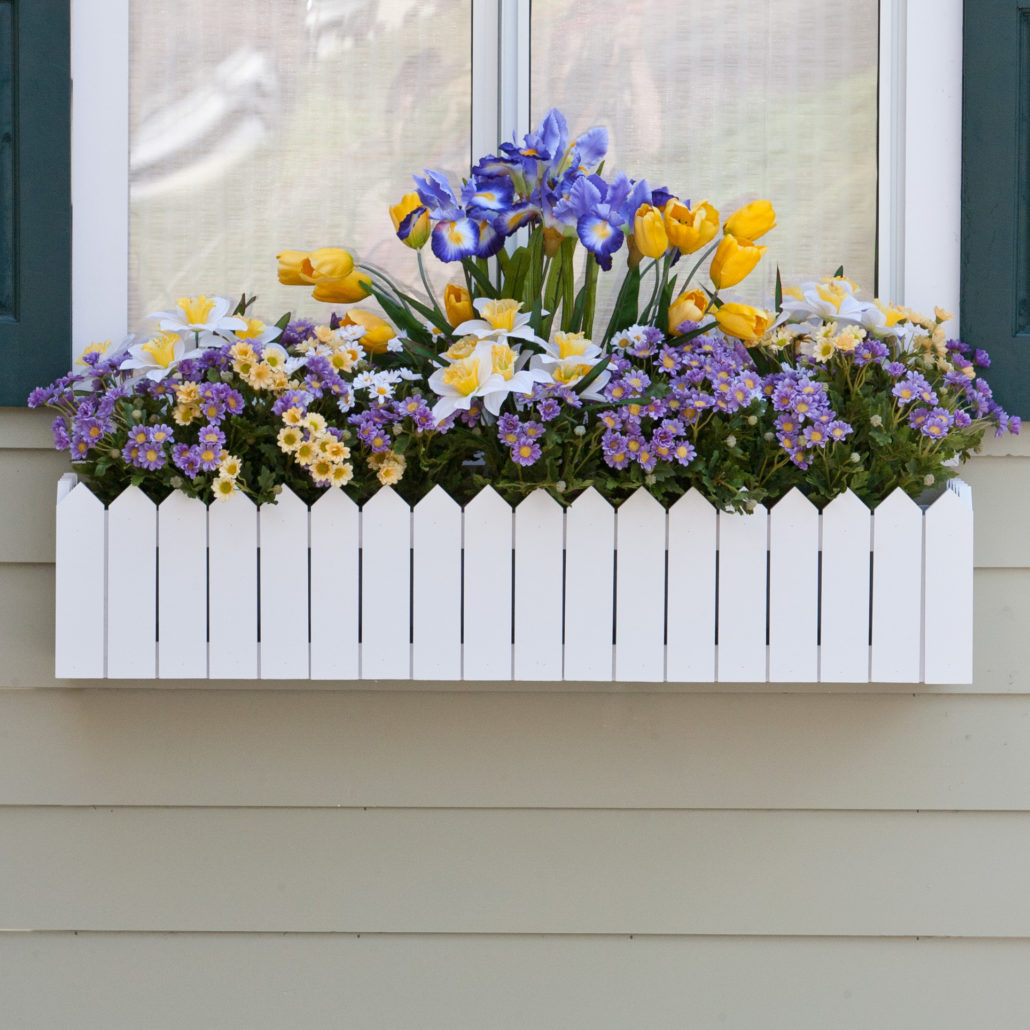 Create A Crisp Display For Your Plants With Pvc Flower